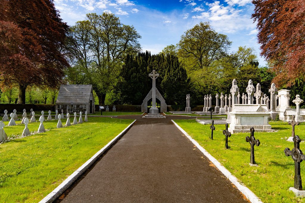 ST. PATRICK'S COLLEGE CEMETERY IN MAYNOOTH  005