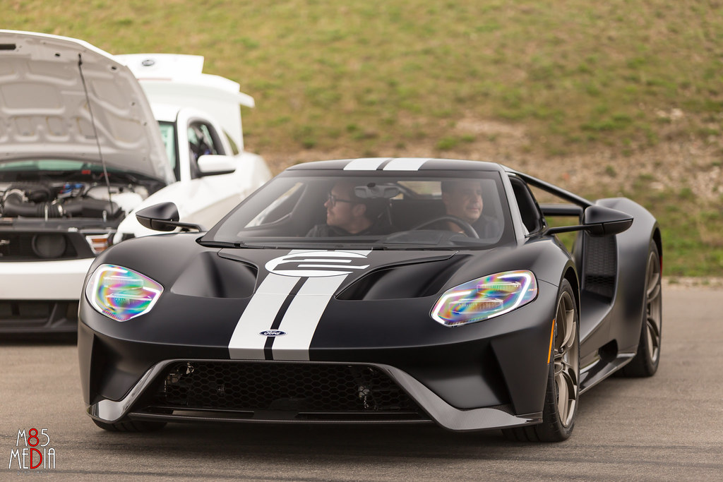 Extremely Rare Matte Black And Silver Ford Gt Heritage Edtion By M Media Ryan