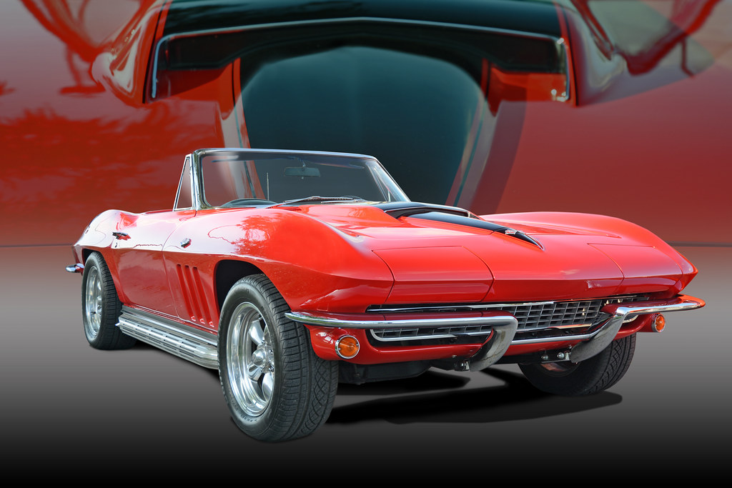 Little Red Corvette A Prince Of A Car This Classic 1965 Flickr