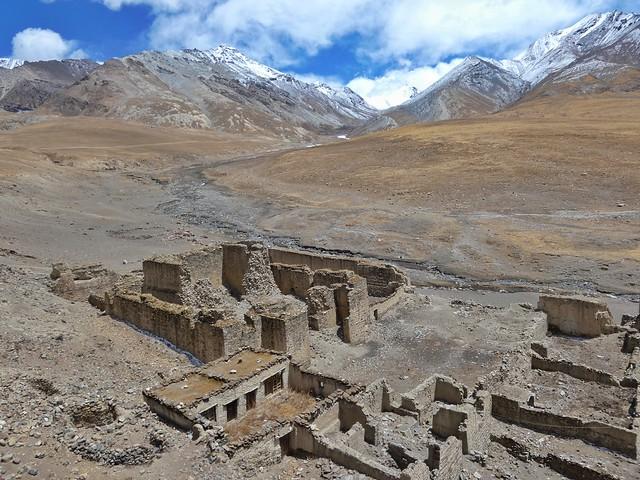 Ruinas del monasterio Ralung (Tíbet)