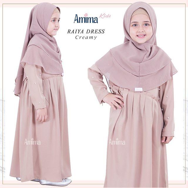 Gamis Amima Raiya Kids Dress Creamy Baju Gamis Wanita Bu Flickr