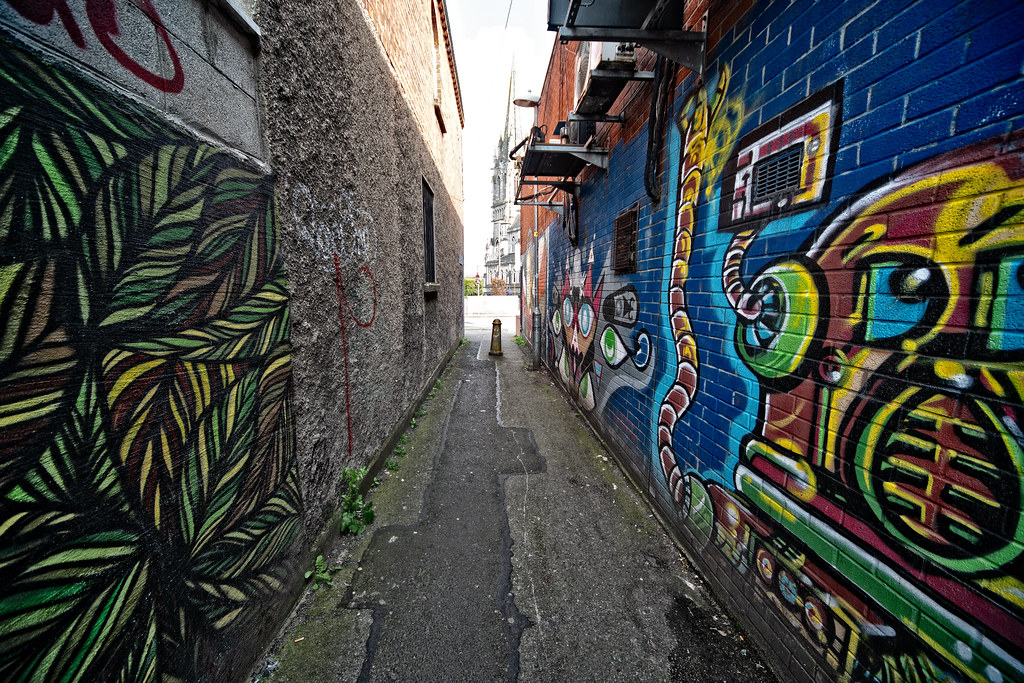 SAINT PETERS LANE - URBAN EXPRESSION AND DEPRESSION 001