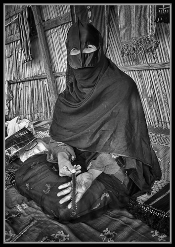 """Bedu Woman of Wahiba Sands"" 
