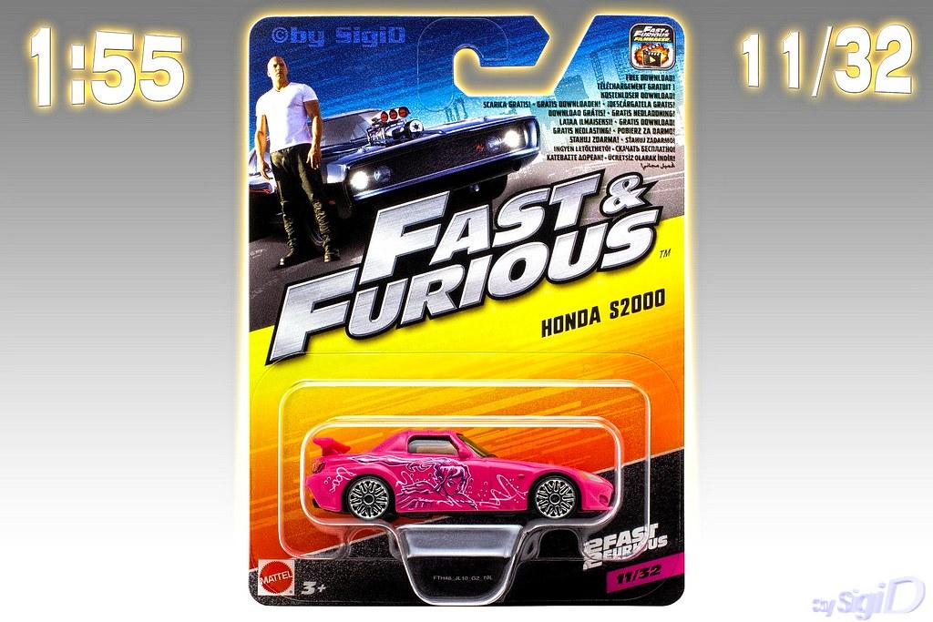 New Honda S2000 >> 1-55_Mattel_Fast_Furious_Honda_S2000_Suki_1   1:55 Mattel ...
