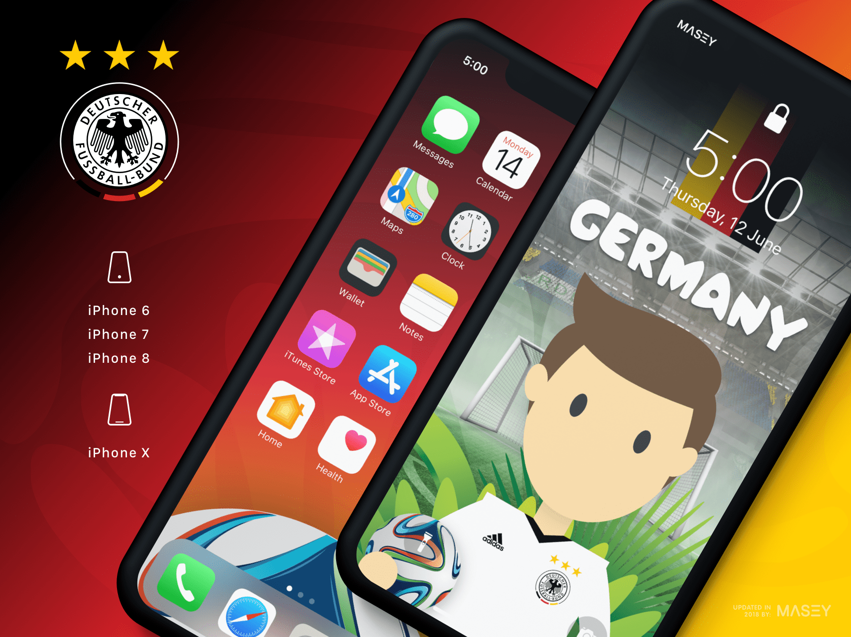 Team Germany iPhone Wallpaper
