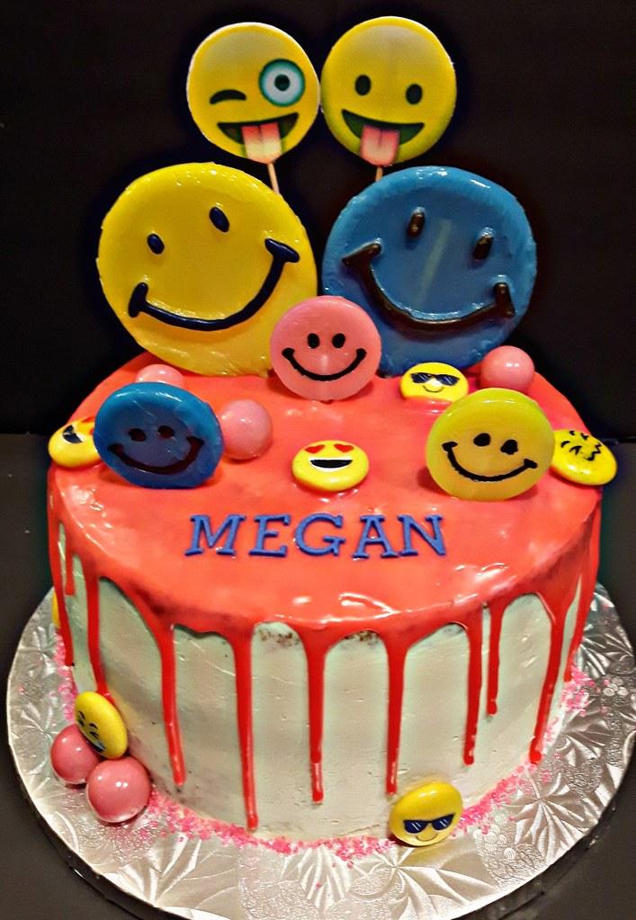 Junecelebrants Megans 8th Birthday Cake Thanks Agnes Flickr