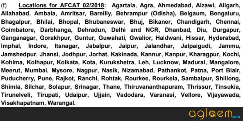 AFCAT 2 2018 Admit Card for AFSB (Released for MET)   Download Here AFCAT Hall Ticket