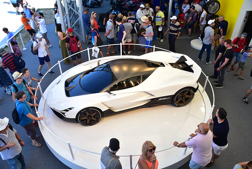 Vazirani Shul Inspire Gran Turismo, Goodwood Festival of Speed 2018