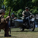 Armed forces day skirmish