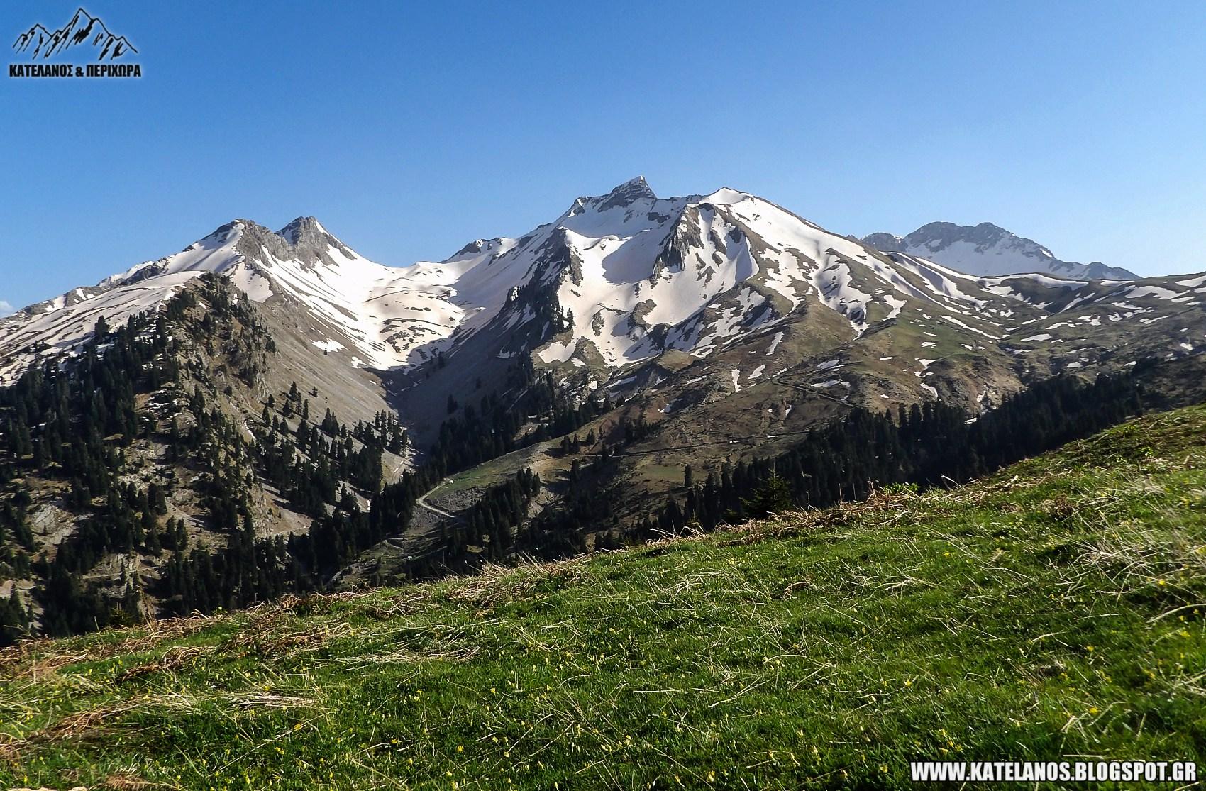 βουνά τρικάλων όρος χατζή