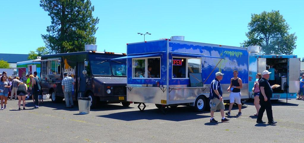 2018 Eugene Food Truck Fest In Eugene Oregon The 3rd Annu Flickr