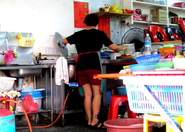 Leong Leong Cafe noodles stall