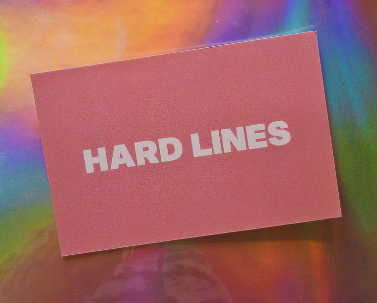 hard lines cardiff business card