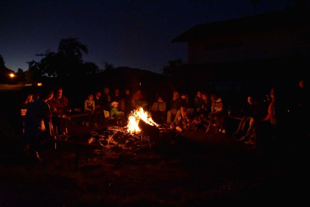 Camping Schwarzer Regen