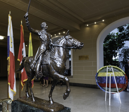 OAS Permanent Council Pays Tribute to the Liberator Simón Bolívar