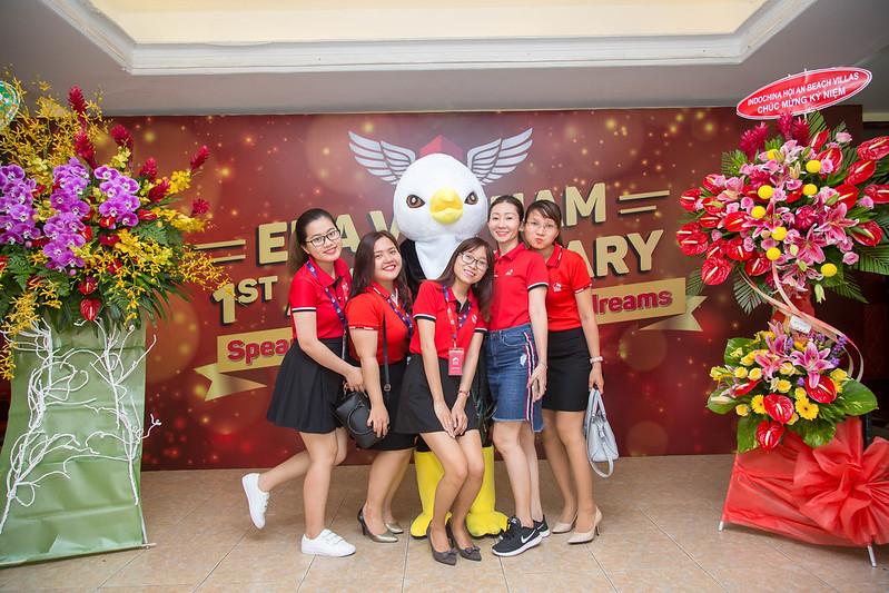 ERA Vietnam - 1st Anniversary bộ phận admin