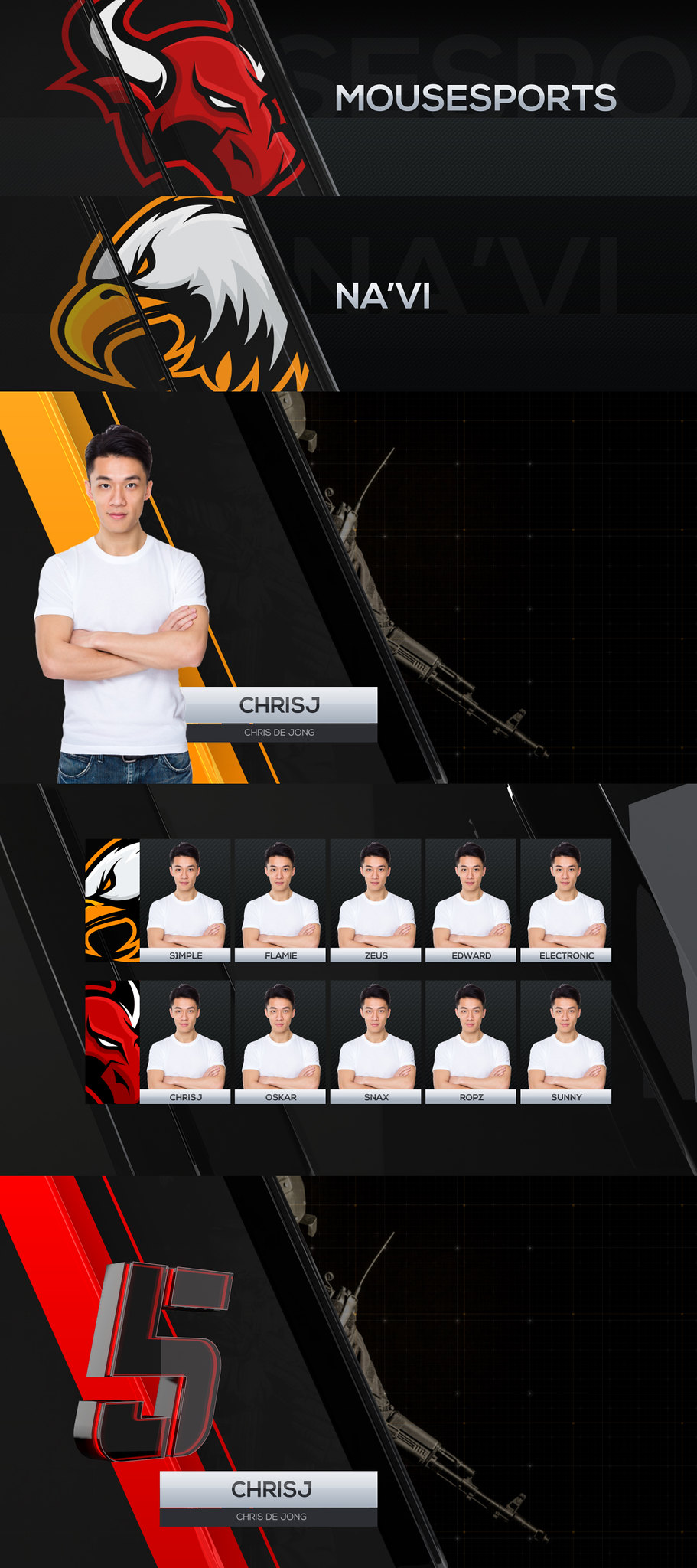 Videohive Cybersport CSGO Package 22369423