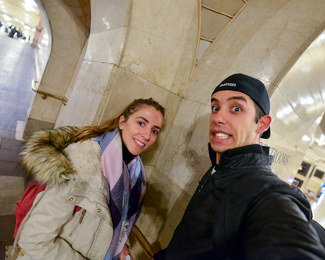 En la Whispering Gallery de Grand Central Terminal