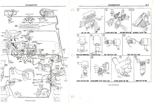 L XL AND GHIA mk2 escort electrical SCHEMATIC | by sean1roche