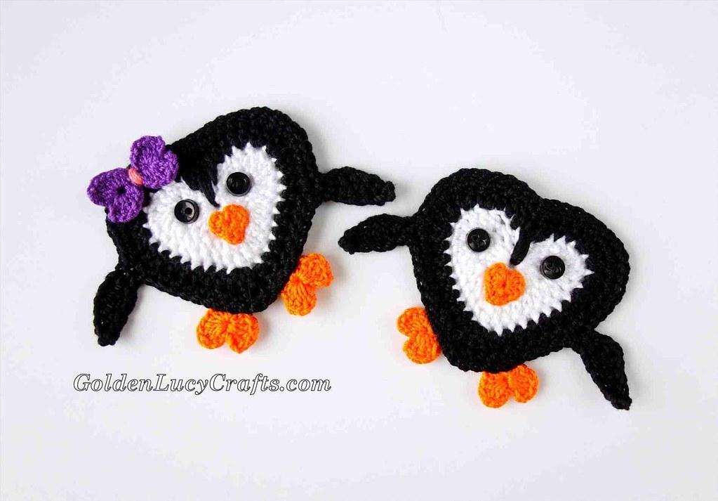 Crochet Penguin Crochet Animal Hats Amigurumi Crochet Pen Flickr