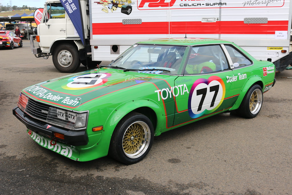Toyota Celica RA40 Group C - Peter Williamson | Muscle Car M… | Flickr