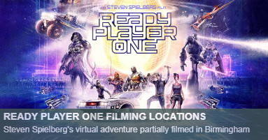 Where was Ready player one filmed