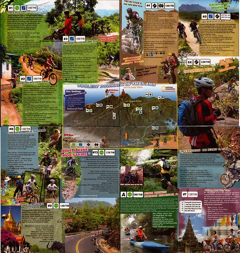 Brochure Chiang Mai Mountain Biking & Kayaks Mountain Bike Tour 4
