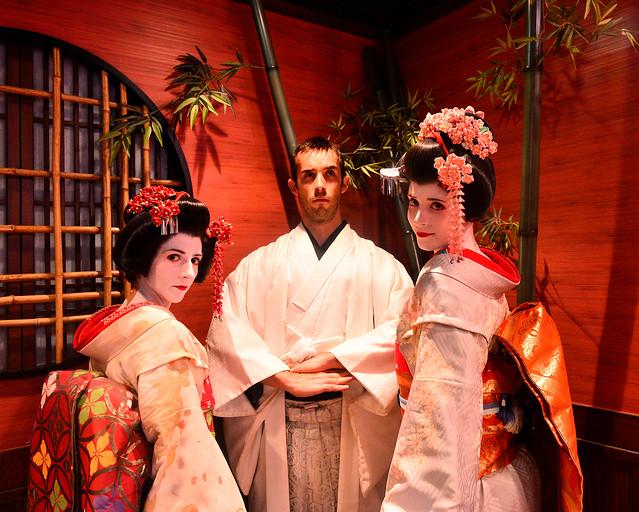 Disfrazados por Japón cuando aprendimos como viajar lowcost
