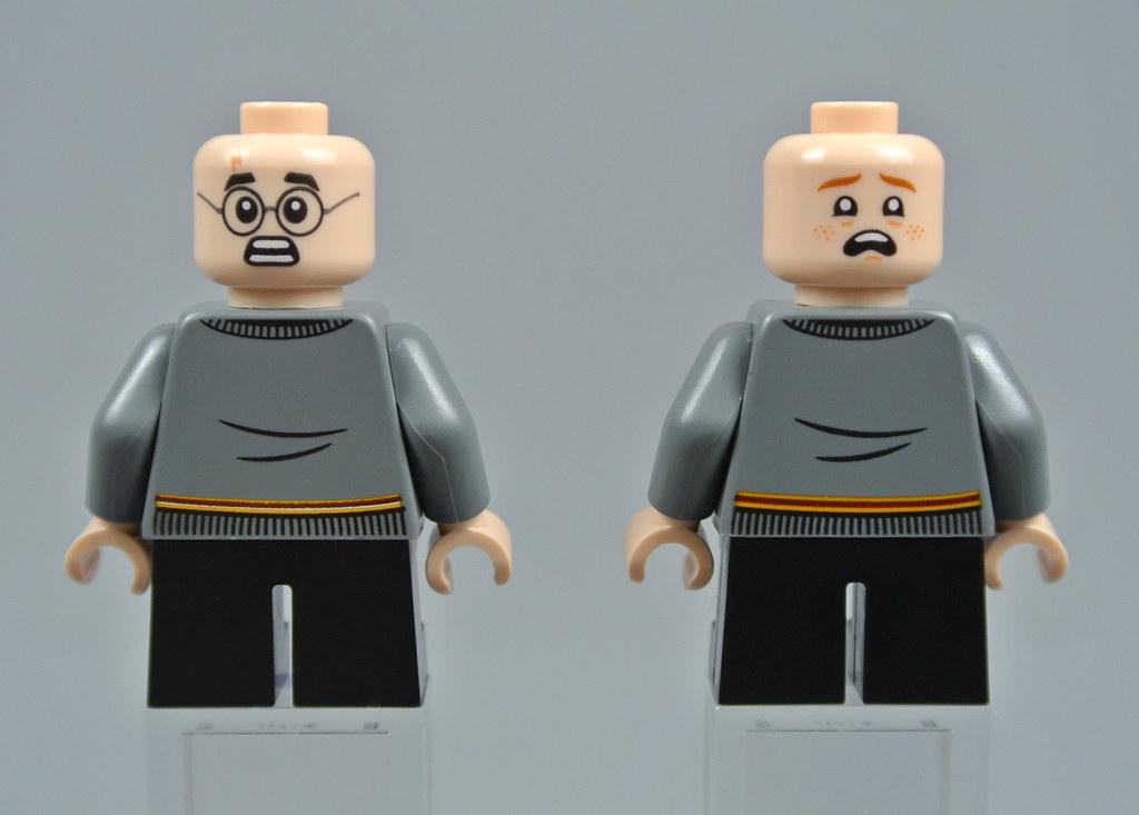 NEW LEGO MALE MINIFIGURE ORANGE BROWN HAIR PART X1 WAVY CAPTAIN AMERICA