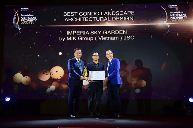 MIKGroup chiến thắng 4 giải thưởng tại PropertyGuru Vietnam Property Awards 2018 2