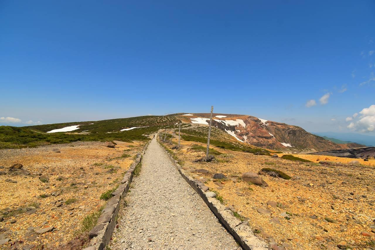 蔵王連峰縦走 刈田岳から熊野岳へ