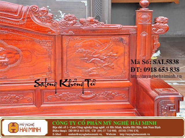 SAL5838e Salong Khong Minh do go my nghe hai minh