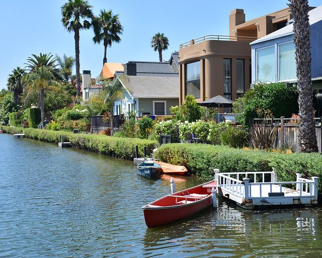 Canales de Venice en Los Angeles
