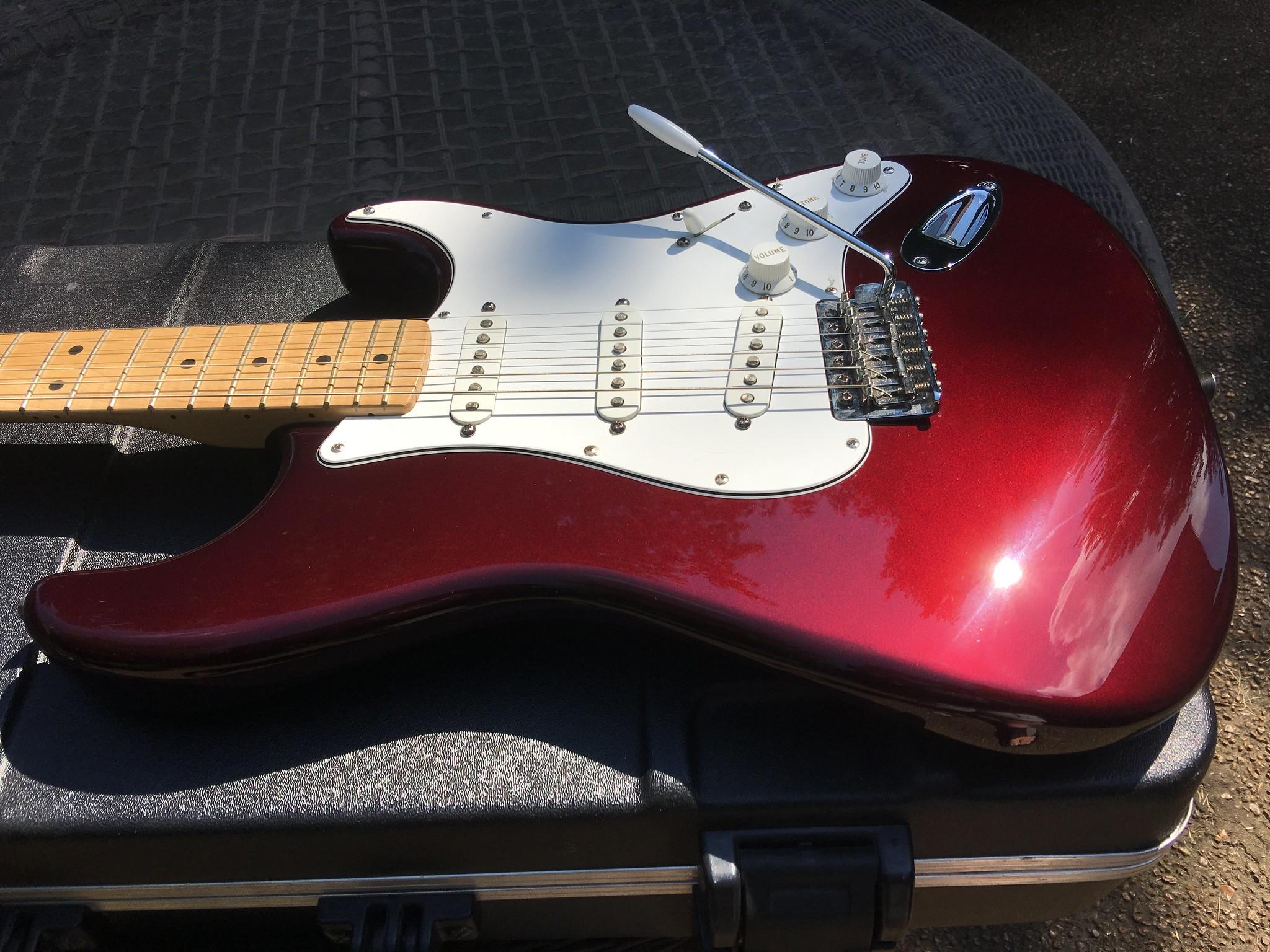 Sold - 2008 Fender Stratocaster (MIM) - Midnight Wine | The
