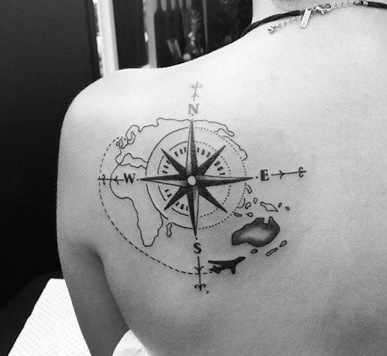 Tatuajes Rosa De Los Vientos Minitatuajescom Mini Tatuajes Flickr