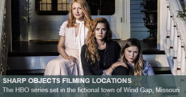 Sharp Objects Filming Locations