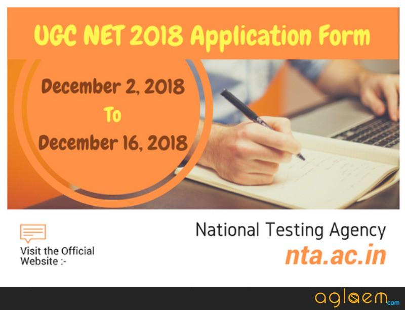 NTA To Release UGC NET December 2018 Application Form On 1 September