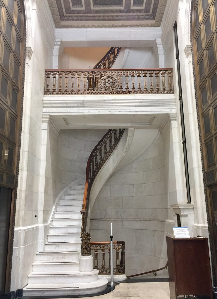 ... Marble Staircase In 1 Montgomery Street. Built In 1908 For The First  National Bank Of