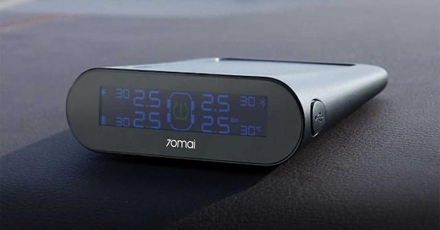 Xiaomi lanza un monitor de presión para las ruedas del coche con panel solar