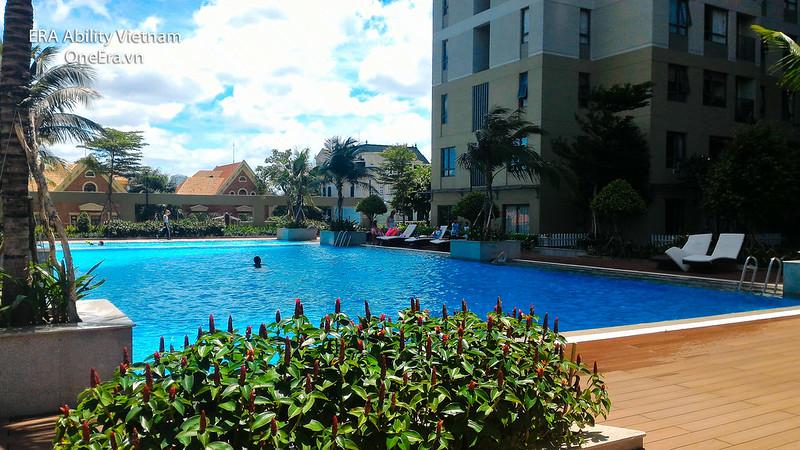 hồ bơi toà T2 Masteri Thảo Điền