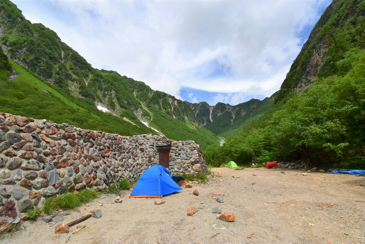 ババ平キャンプ場