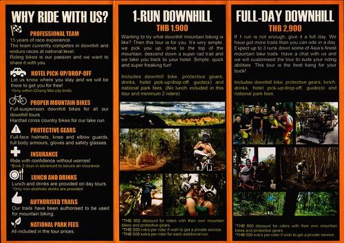Brochure X-Biking Chiang Mai Thailand 2