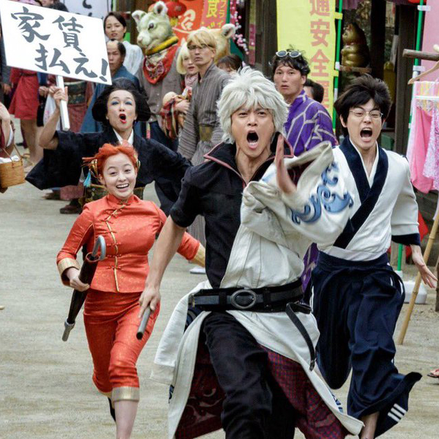 180629 -「柳楽優弥」一人飾二角、「登勢」大喊不要跑!電影《銀魂2 規則就是讓人家來違反的》台灣8/24首映!