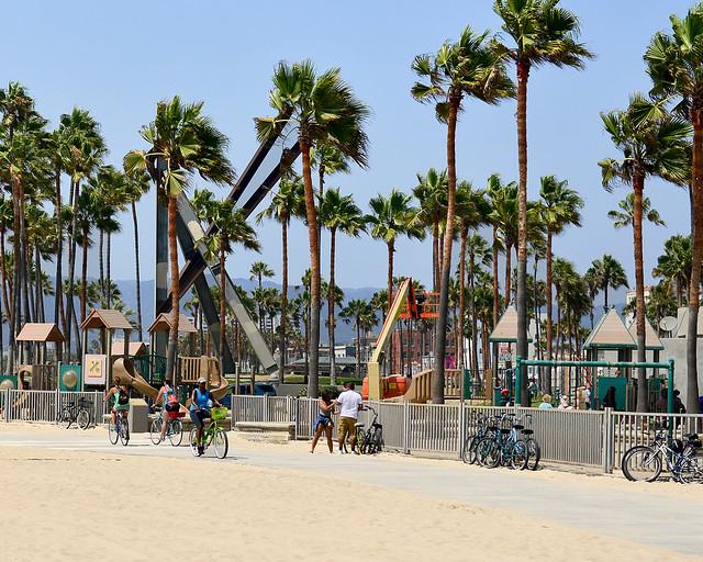 Oceans Drive, el paseo marítimo más bonito que ver en Los Angeles