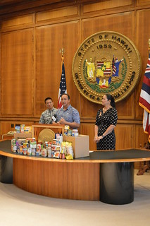 Hawaii Foodbank State Food Drive | by Lt. Governor Doug Chin
