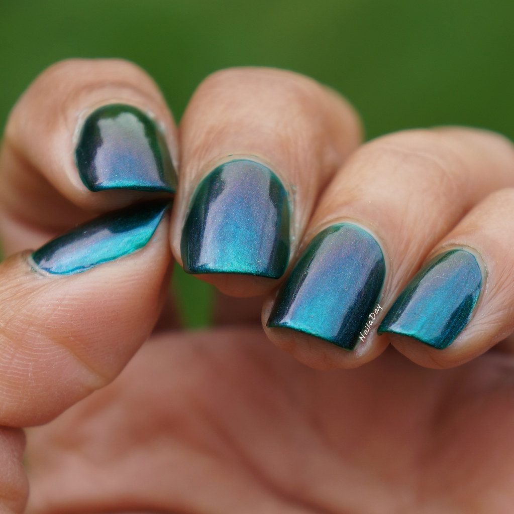 NailaDay: P.O.P Polish Enchanted Slick