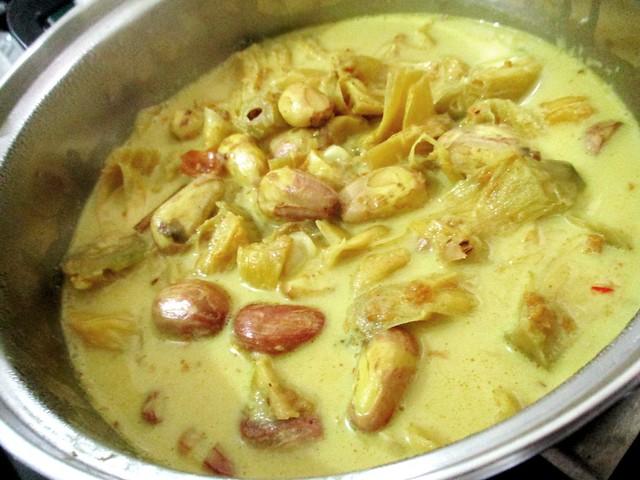 Tupang muda masak lemak 3