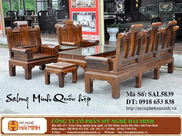 SAL5839b Salong Minh Quoc hop do go my nghe hai minh