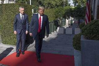 Meeting with US President Donald Trump | by NATO