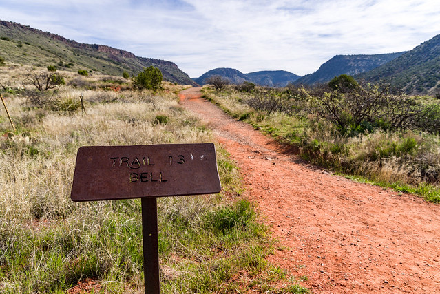 Bell Creek Trail on the Coconino National Forest